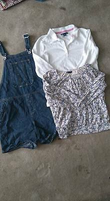 GAP - Floral Tops Chambray Denim Jumpers Rompers Girls Clothing lot 3 sz 14 USED