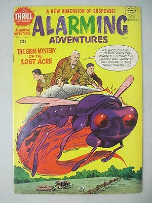 Alarming Adventures #1 October 1962 Harvey Comics Reed Crandall & Al Williamson