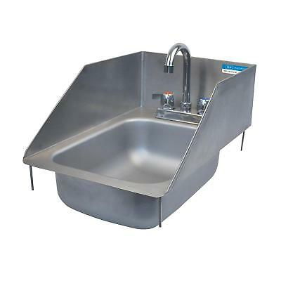 """BK Resources One Compartment 12-3/8""""x18-1/2"""" Stainless Steel Drop-In Sink"""