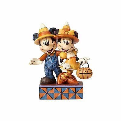 Jim Shore Disney 2017 COUNTDOWN TO CANDY-CANDY CORN MICKEY AND MINNIE 4057948