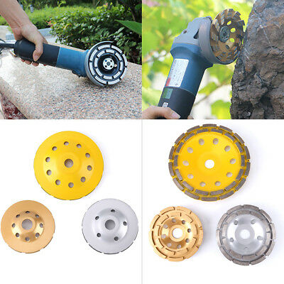 115/125/180mm Diamond Grinding Wheel Disc Cup Marble Concrete Granite Stone coi