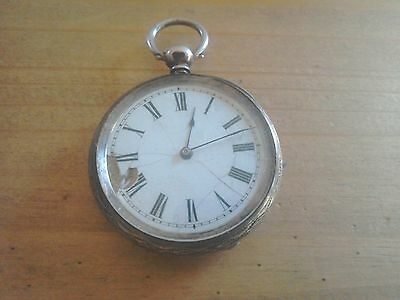Silver Fob/Pocket Watch London 1881.