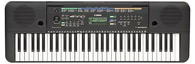 Yamaha Psr E253 Keybord Home Orgel Kinder Keyboard Lernfunktion 61 Tasten