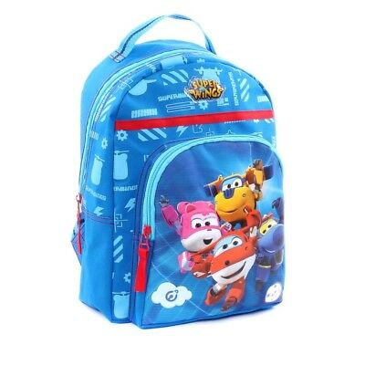 Super Wings - Kinder Rucksack Rescue Power 30 x 23 x 12 cm​