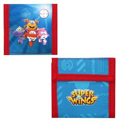 Super Wings - Niños Monedero Cartera Rescue Power