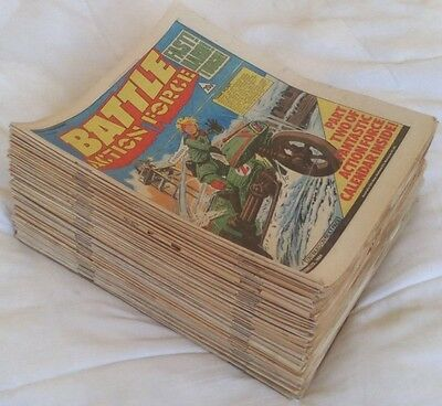 Battle (Action Force) comic 1984. Complete Year - 52 issues. VGC comics