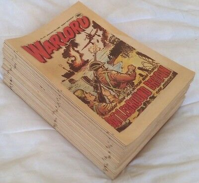 Warlord comic 1985. Complete Year (-1). 51 issues. VGC comics