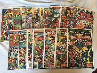 Guardians of the Galaxy Lot 2-15 Issues of Marvel Presents, 2-in-1, Team-Up,etc.