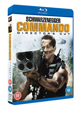 Commando: Director's Cut Blu-ray (2015) Arnold Schwarzenegger ***NEW***