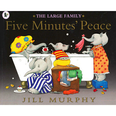 The Large Family - Five Minutes Peace (Paperback), Children's Books, Brand New