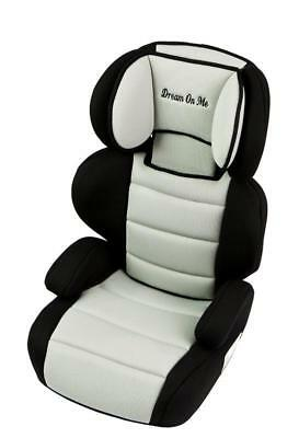 New Dream On Me Deluxe Booster Car Seat - Black and Ivory Model:20F703BE