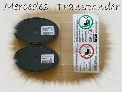 ☆ Automatic Child Seat Recognition (AKSE) (for use on Mercedes passenger seat)