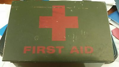 Vintage First Aid Kit - Filled