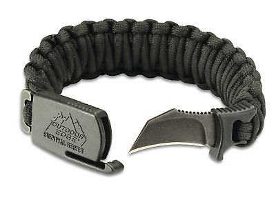 Outdoor Edge PARA-CLAW Paracord Survival Bracelet & Knife - Hot New Product!