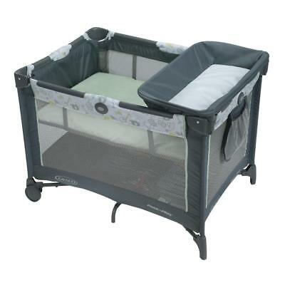 New Graco Pack 'n Play Playard Simple Solutions - Integrated Diaper Changer &