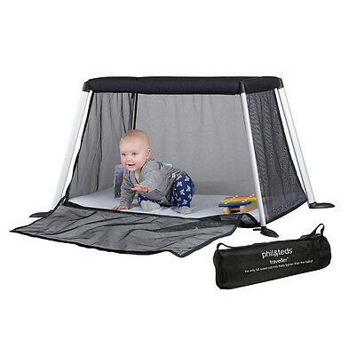Phil&Teds Version 4 Traveller Crib - Black - Brand New! Free Shipping!