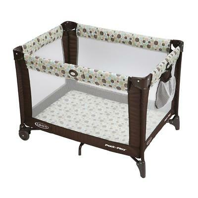 New Graco Pack 'n Play Travel Playard With Automatic Folding Feed & Compact Fold