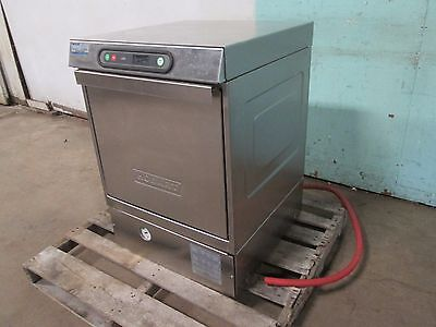 """HOBART LXiH"" H.D. COMMERCIAL S.S. (NSF)  HIGH TEMP UNDER COUNTER DISHWASHER"