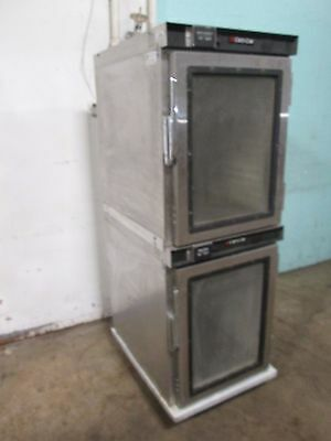 """cres-Cor"" H.d. Commercial Digital Stacked Humidified Proofer Oven + Hot Cabinet"