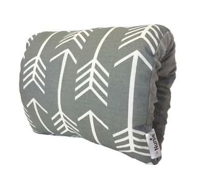 New Nursie Lucky Southern Nursing Pillow - Gray and White Arrow Model:731688AE