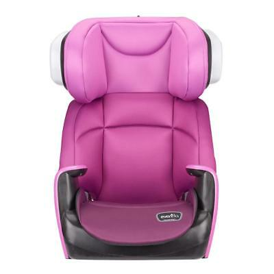 New Evenflo Spectrum Booster Car Seat - Poppy Pink Model:AD7CD4E9