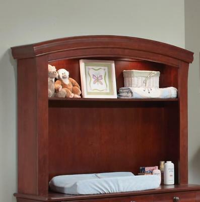 New Westwood Design Stratton Combo Hutch with Toughlight - Virginia Cherry