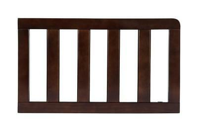 New Delta Children Toddler Guard Rail - Chocolate Model:55BE80A6