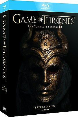 Game of Thrones: The Complete Seasons 1 2 3 4 5 [Blu-ray Set, Region Free HBO]