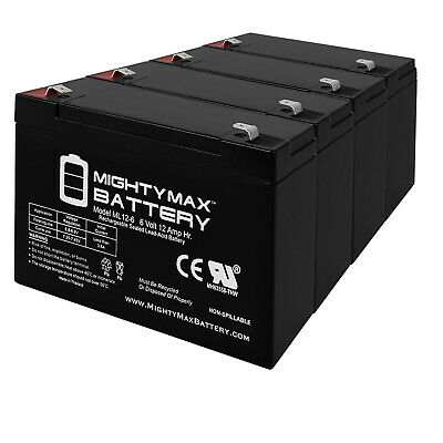 Mighty Max Battery 12V 7.2AH Replacement Battery for SU3000R3BX120-4 Pack Brand Product