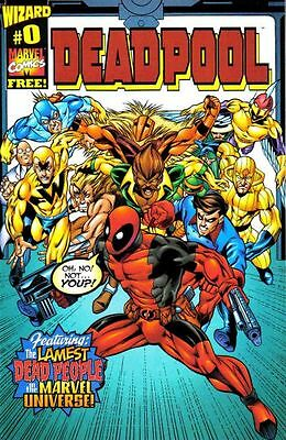 DEADPOOL #0 F, 1st Series, Wizard, Marvel Comics 1998