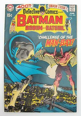 Detective Comics #400 (VF-) 7.5 Bronze Age Batman DC, 1st App & Origin Man-Bat
