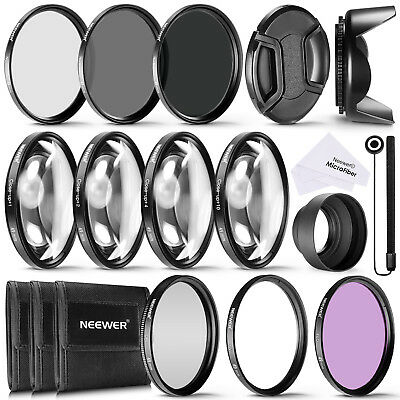 Neewer 49MM Lens Filter and Accessory Kit