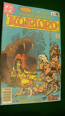 The Warlord Vol 4 No 28  bronze age December 1979  DC Super Star hero Mike Grell
