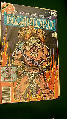 The Warlord Vol 4  No 24  bronze age July 1979 DC Super Star hero Mike Grell