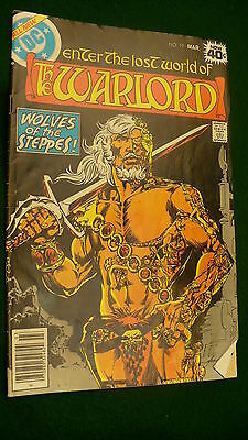 The Warlord Vol 4 No 19  bronze age March 1979 DC Super Star hero Mike Grell