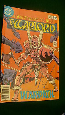The Warlord Vol 5 No 30  bronze age February 1980 DC Super Star hero Mike Grell