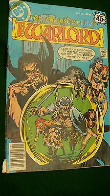 The Warlord Vol 4 No 20  bronze age April 1979 DC Super Star hero Mike Grell