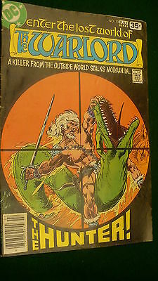 The Warlord Vol 3 No 13  bronze age July 1978 DC Super Star hero Mike Grell