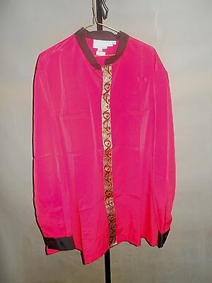 Harrahs Casino Hotel Las Vegas Uniform Red Size 2XL