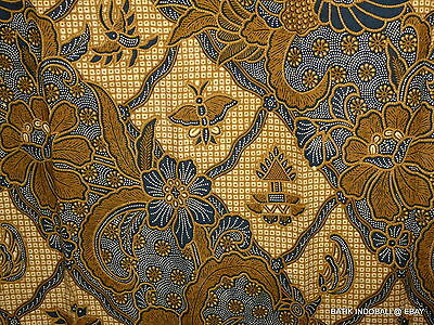 Vintage Indonesian Batik ~ Java ~ Traditional  & Beautiful  Motif ~ Ex Cond B173