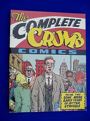 The Complete Crumb Comics vol 2 First edition & First printing 1988.
