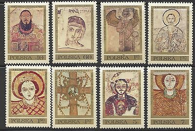 1971 Poland stamps  Polish Archaeological Excavations In Nubia MNH  SET OF 8