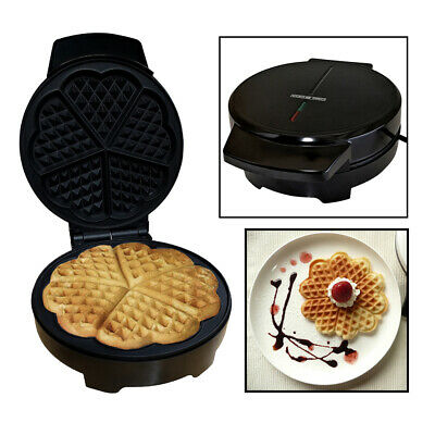Voche® Electric Non-Stick Waffle Maker Making Machine Makes Heart Shaped Waffles