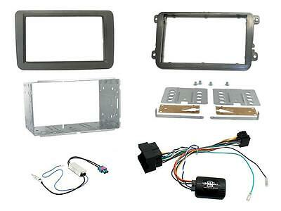 Connects2 CTKVW16 VW Tiguan 2015 On Complete Double Din Stereo Fitting Kit