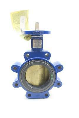 New Keystone Ar2 Iron Flanged Butterfly Valve 4In D572666