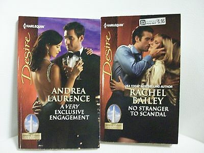2 Harlequin Desire romances-Daughters of Power:The Capital by Bailey/Laurence
