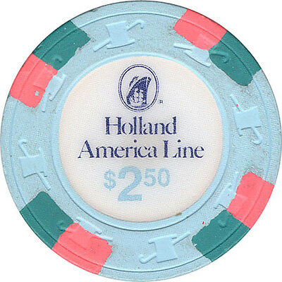 Holland America Cruise Line - $2.50 Casino Chip
