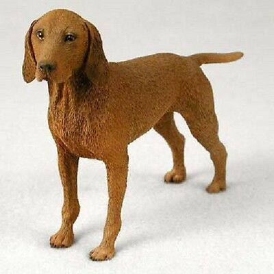 VIZSLA Dog HAND PAINTED FIGURINE Resin Statue COLLECTIBLE puppy NEW