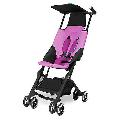 Goodbaby GB Pockit Compact Stroller in Posh Pink Folds Smaller than Nano!!
