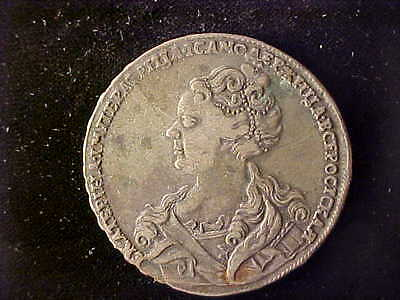 Russia One Rouble 1726 Fine To Very Fine  Davenport-1664,  Catherine I